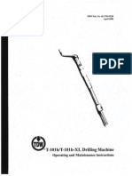 T-101 Drilling Machine Op&Mnt Instructions-1