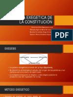 Lectura Exegetica de La Constitución