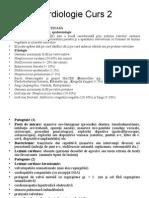 Cardiologie Curs II