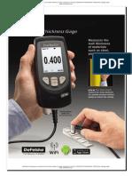 Medidores de Espesores Ultrasonicos Con Escaner Detector de Fallas o Defectos Utg c3 e Positector Advanced Defelsko Catalogo Ingles