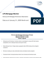 LPS Lender Processing Services Mortgage Monitoring Report Feb 2010
