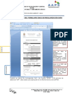 Guía de Llenado Del Formulario Único de Regularización Sarh