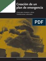 plan de emergencia museos