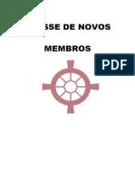 Classe Ded Novos Membros