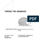 Tipping the Hedgehog