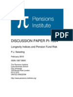 Longevity Indices and Pension Fund Risk