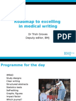 Roadmap for Medical Writing