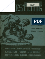 Wrestling - Chicago Park District, 1942