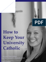 How to Keep Your University Catholic