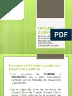 Lenguaje Audiovisual - Clase 3 -Introducciòn Tercera Parte. El Encuadre. Dimensiones y Puntos de Vista.