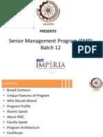 senior management program