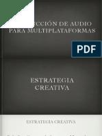Estrategia Creativa - Parte 01