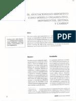 Porro_El asociacionismo deportivo como modelo organizativo. Movimiento, sistema y cambio