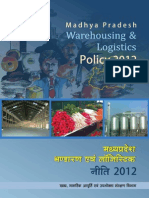 Warehousing Policy 2012