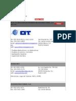 directorio de Estructuras de Acero