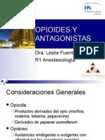 Opioides y Antagonistas