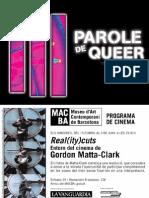 Queer, Historia de Una Palabra _ Paul Beatriz Preciado en Parole de Queer