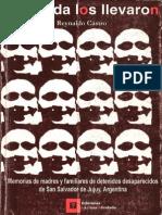 Memorias de Madres y Familiares de Detenidos Desaparecidos de San Salvador de Jujuy