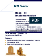 Basel 3 Implentation in India