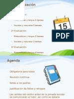 Diapositivas incompletas en la reunión