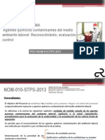 7. Anexo 4. Proyecto de Norma PROY NOM 010 STPS 2013