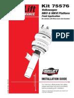 Manual Instalación Airlift MK5 CK-95776