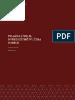 1 Polazna Studija o Preduzetništvu Žena u Srbiji Dobro Obavezno