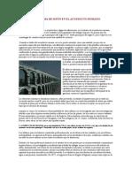 El Sistema de Sifón en El Acueducto Romano