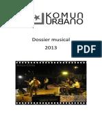 Dossier Musical Komun Urbano 2