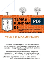 Temas fundamentales de medicina general