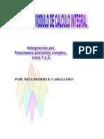 Clase14 Integracion Por Fracciones Parciales Simples Caso 1 y2