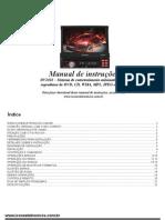 Manual do radio DVD ICONE modelo DV2011