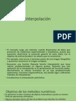 Prog Aplicada Teor a Interpolaci n