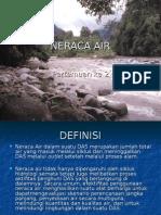 NERACA AIR.ppt