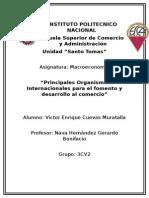 Principales Organismos Internacionales Macroeconomicos