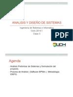 Analisis y Diseño UDH