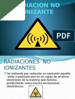 Radiacion No Ionizante