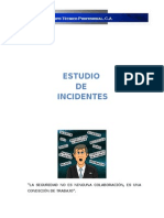 Estudio de Incidentes.