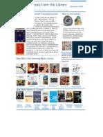 Newletter November 2008