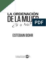 Spanish Reflections on Womens Ordination