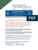 Examen Selectividad Junio 2015. Opción b