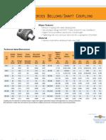 KPS Series Bellows/Shaft Coupling