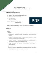 programa Sociología del Deporte-unlp 2010