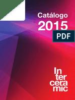 Catalogo 2015 Interceramic