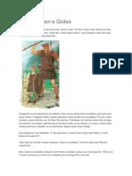 História biblica