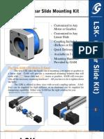 LSK Linear Slide Mounting Kit