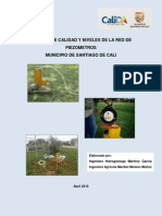 Informe Red Monitoreo Aguas Subterraneas