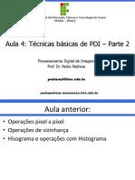 PDI - Aula 4
