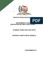 Mantenimiento  Unidades Hospitalarias del IMSSl
