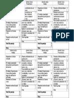 Lista de Cotejo Albúm vertebrados e invertebrados
